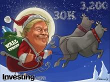 Santa Rally Comes To Wall Street