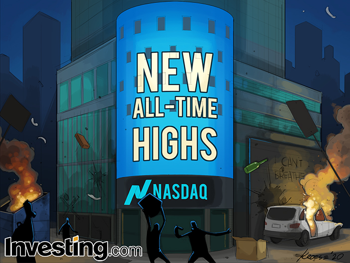 Stock Move Within Sight Of All-Time Highs As Markets Look Past Civil Unrest
