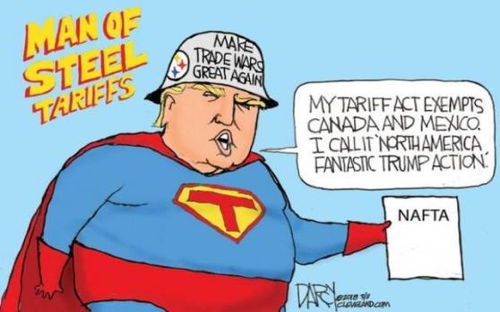 犹豫不决-特朗普征税