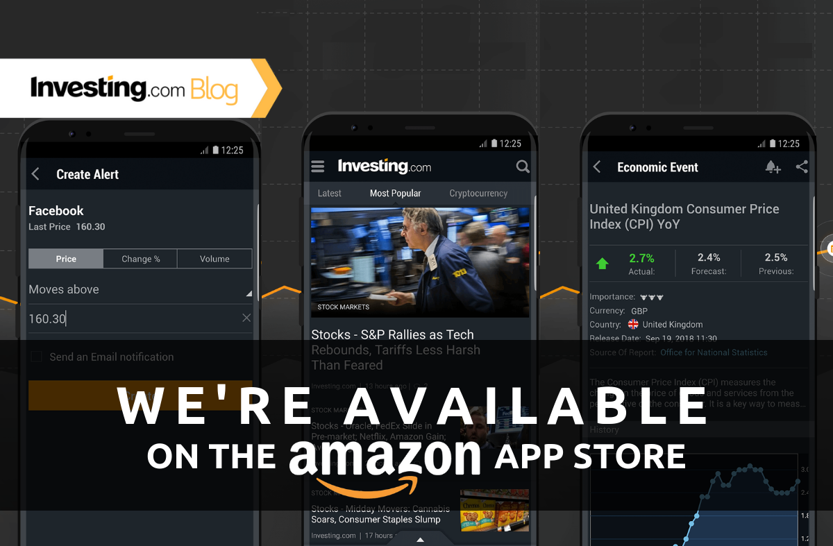 We're Available on the Amazon App Store