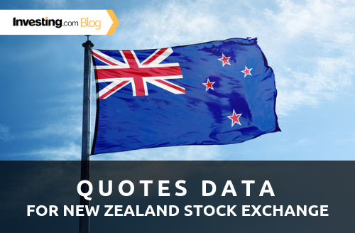 Investing.com Adds Quotes Data from the New Zealand Stock Exchange