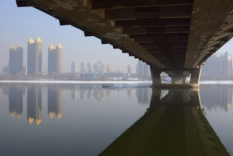 抚顺河东风景图片丶