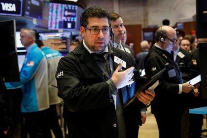Wall Street pares losses on positive coronavirus news