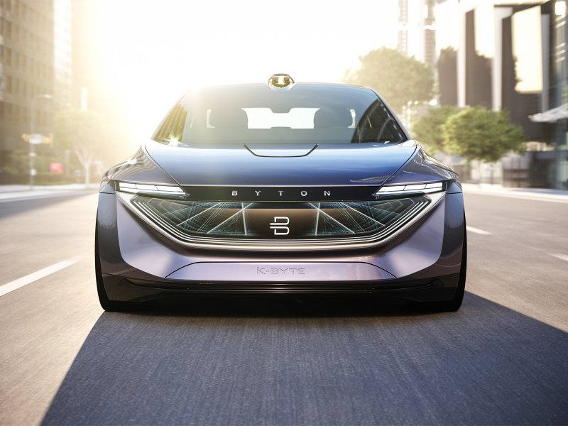 © Byton, Byton will release its K-Byte electric sedan in 2021.