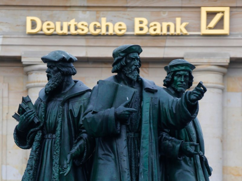 Deutsche Bank stock surges after government looks at Commerzbank merger idea