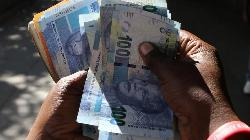 South African rand flat as global markets steady