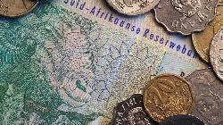 South African rand falls as nationwide blackouts weigh