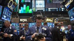 U.S. shares lower at close of trade; Dow Jones Industrial Average down 0.72%