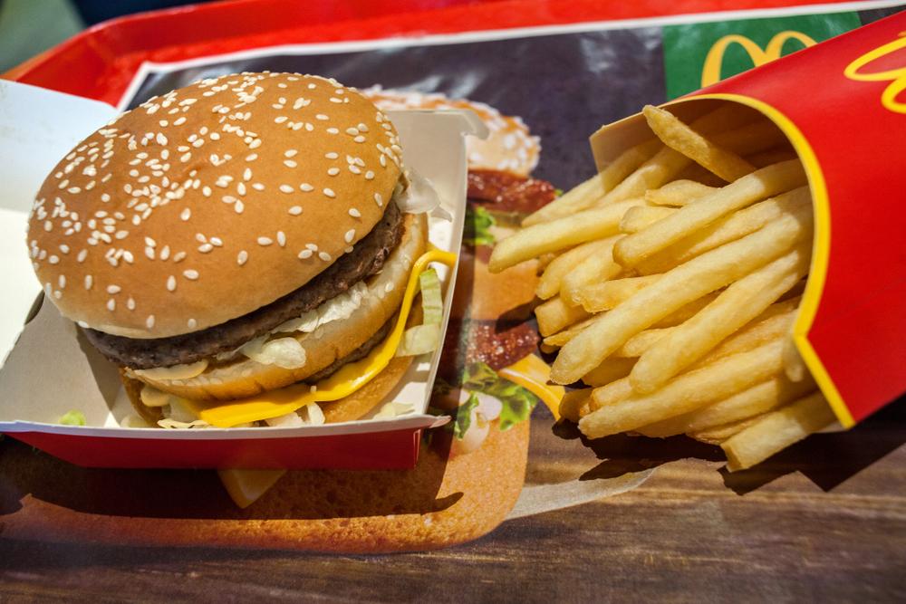 Classic Big Mac & fries - Minsk, Belarus