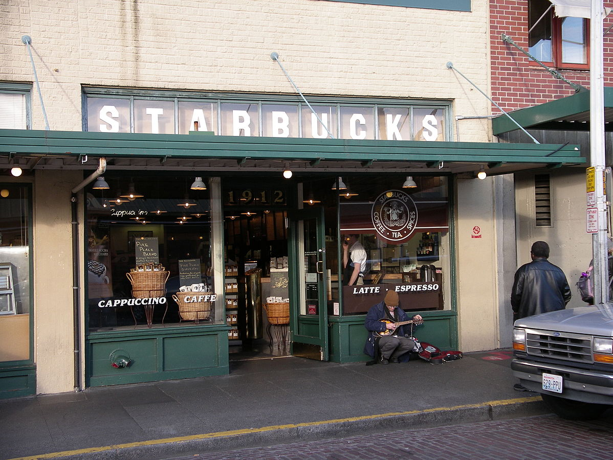 Pierwotny lokal Starbucks