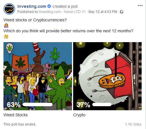 Marihuana vs Kripto