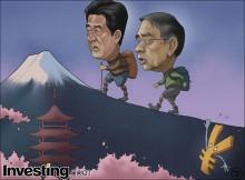 円は対米ドルで7年来の安値に下落した。どこまで下落するのか。