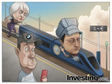 The euro train crash gathers steam as it heads towards parity. How low will the euro go?