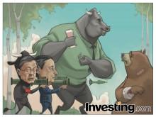 雄牛は、中央銀行の友達のおかげで、コントロールの中に戻る。