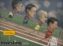 G7参加国による自国通貨切下げ競争により通貨戦争勃発