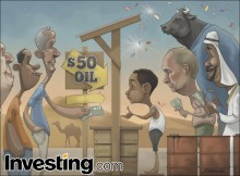 Market players celebrate oil's return to $50