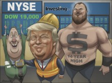 Trump makes the Dollar and the stock market great again
