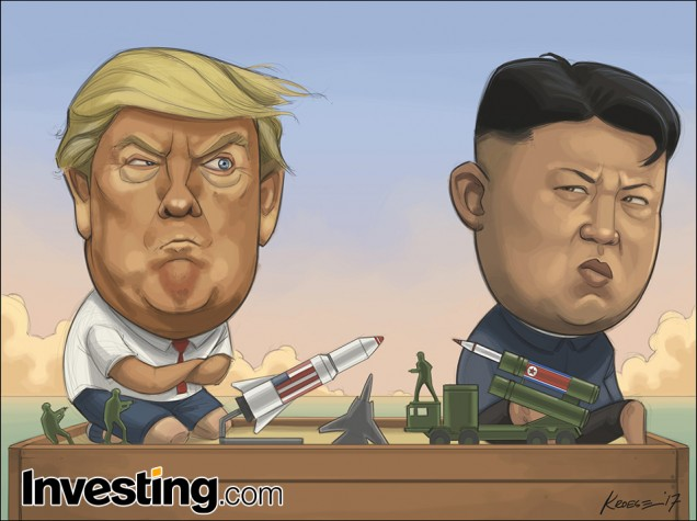 Трамп да Ким продолжают резаться во войнушки