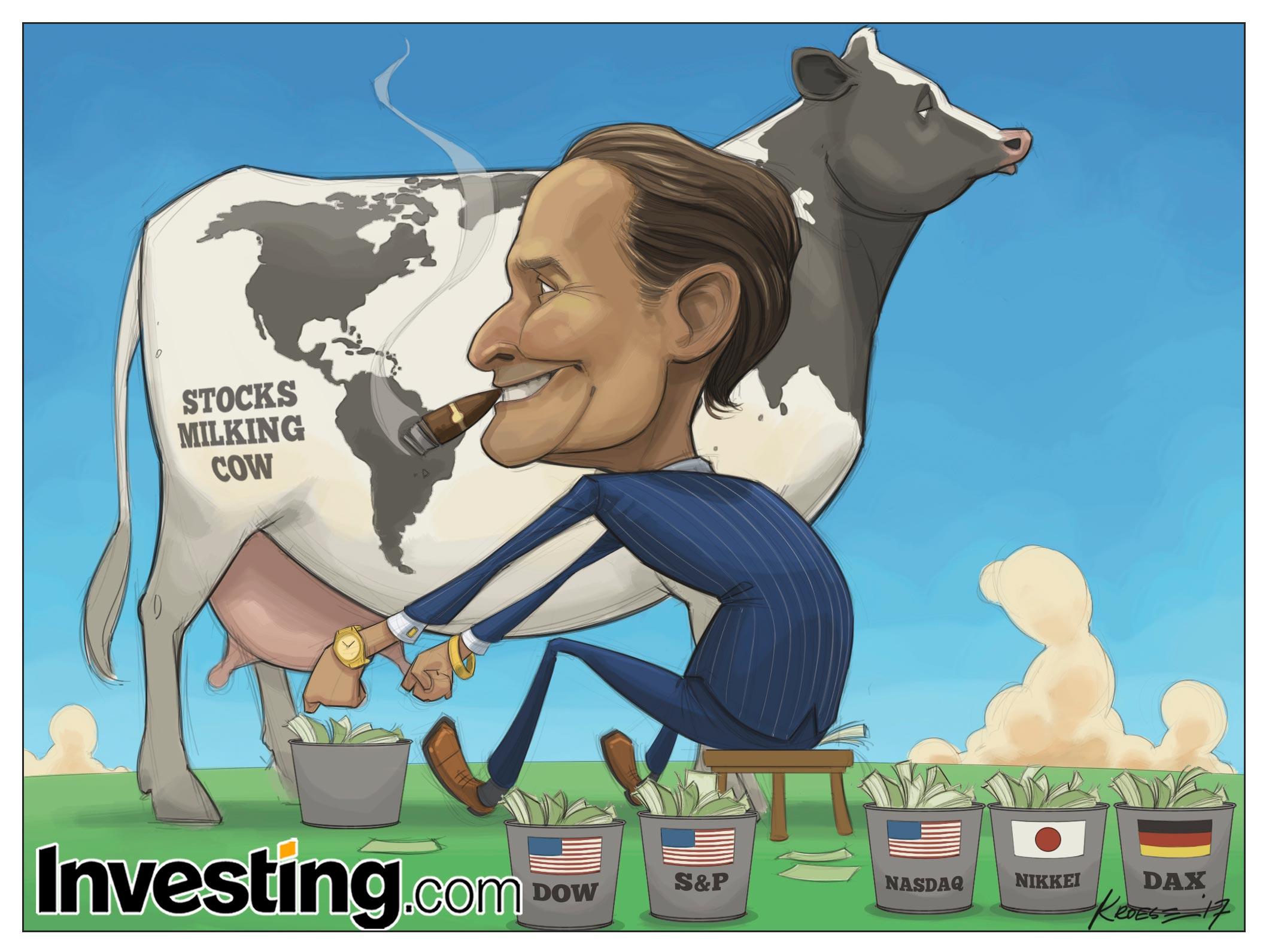 Har euforiska aktiehandlare tänjt marknaderna till det yttersta?