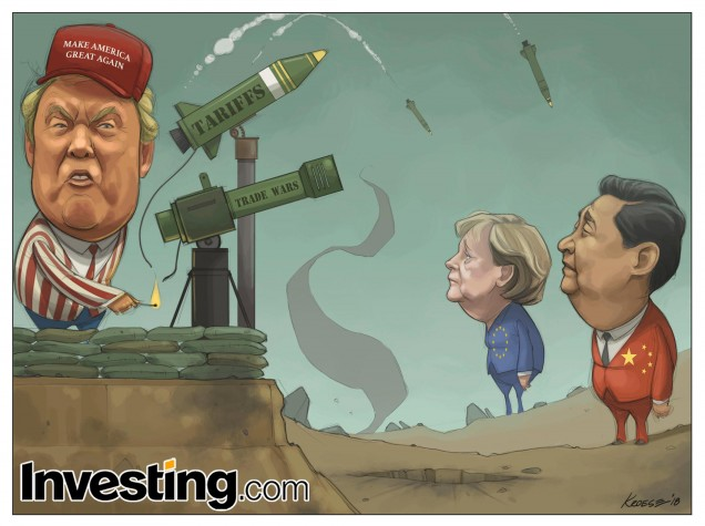 Tarif Impor Trump Percikan Potensi Perang Dagang Global