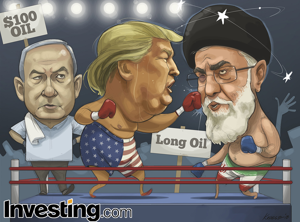 Trump Dumps Iran Nuclear Deal. Will We Now See $100 Oil?