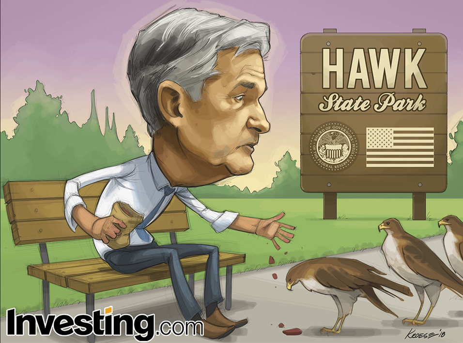 Powell leads the Fed down a hawkish path