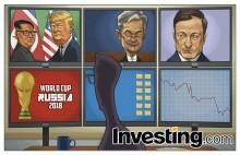 Presidente Trump e Líder Norte-Coreano Kim, Fed., BCE e Campeonato Mundial. Que semana!