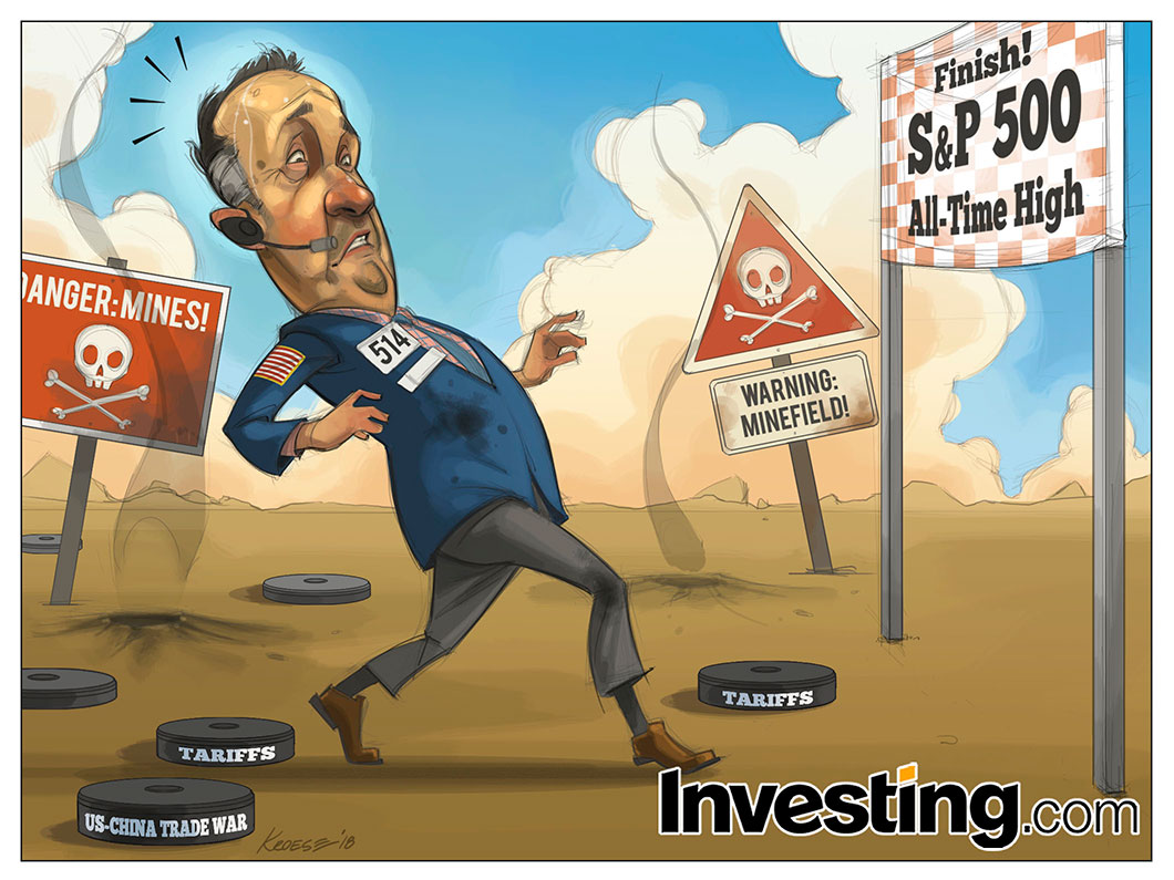 S&P 500 Hampir Kembali ke Puncak Tertinggi Dibayangi Beragam Faktor Bearish