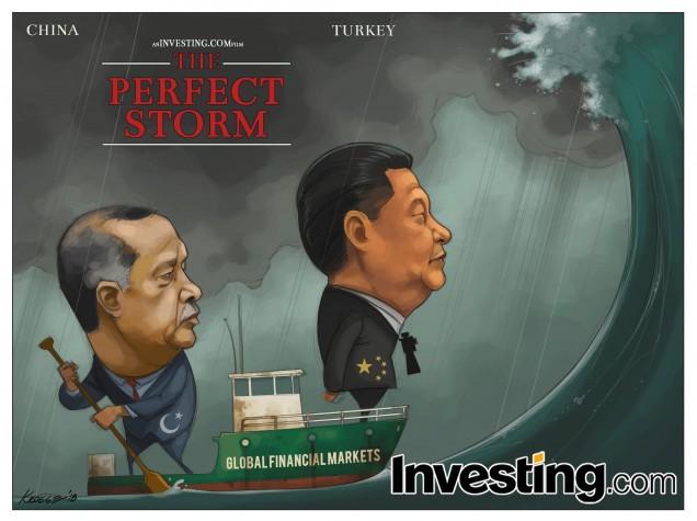Tormenta perfecta: China y Turquía hacen zozobrar a los mercados