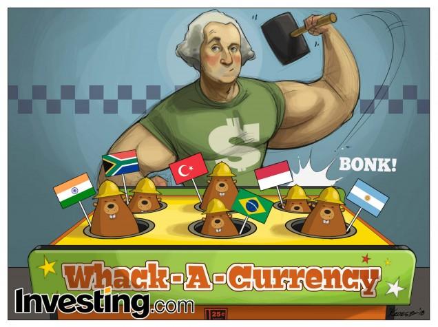 Η επιδείνωση του ξεπουλήματος νομισμάτων αναδυόμενων οικονομιών πυροδοτεί φόβους εξάπλωσης