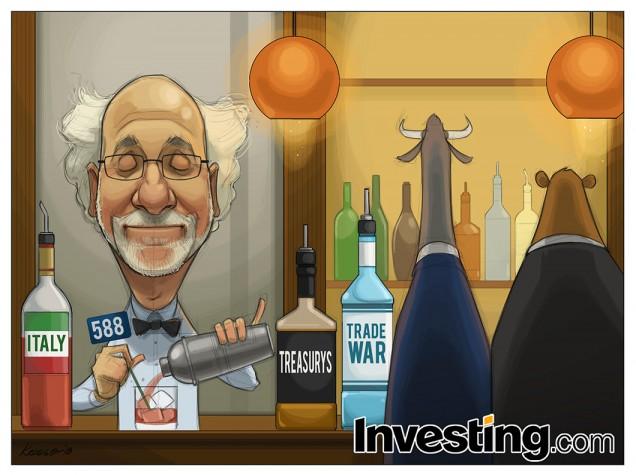 Коктейль «Рыночный трепет»: американские трежерис, итальянский бюджет и торговые войны