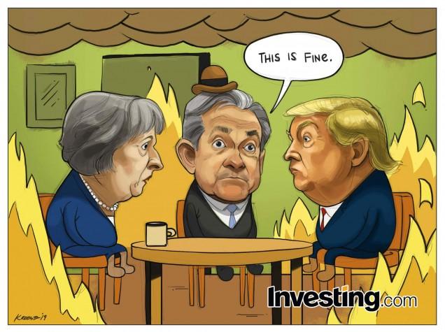 Los mercados globales, inmunes al caos político