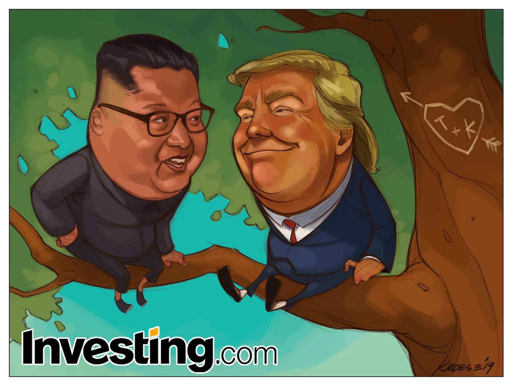 SanValentino fissato a fine mese in Vietnam per la coppia Trump - KimJoung-un