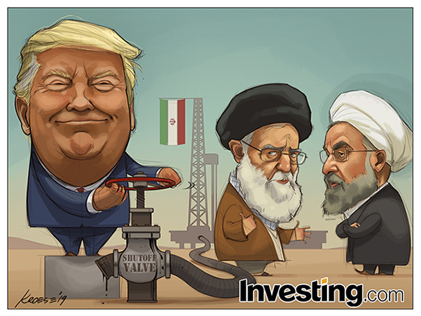 No More Waivers: Trump Prepares To Choke Off Iran's Oil