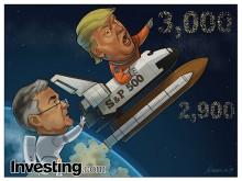パウエル議長とハト派なFRBの金融政策がS&P500を市場最高値へと押し上げる