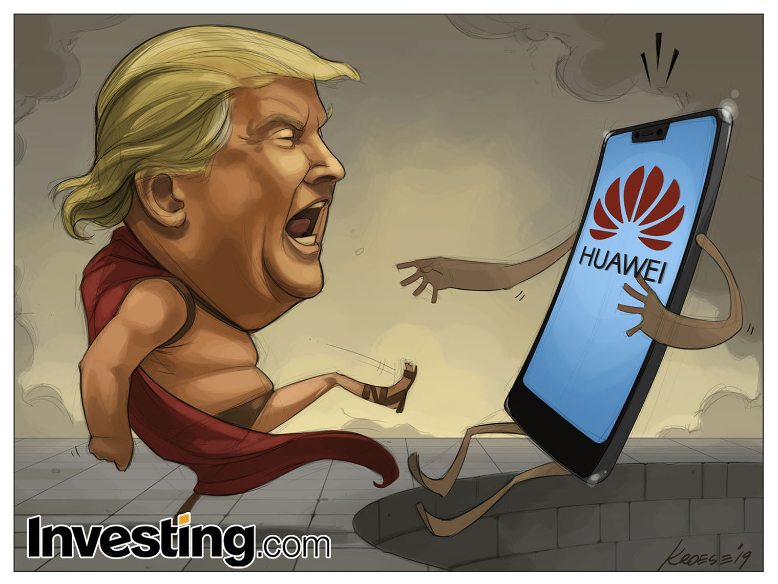 Trump's Latest Move To Blacklist Huawei Fuel Fears Of U.S.-China Tech War