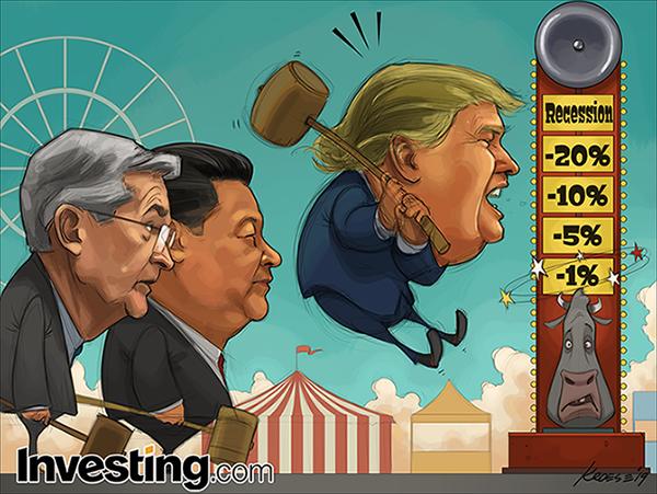 Global Markets Slammed By Double Whammy of U.S.-China Trade War And Hawkish Fed