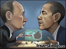 Obama and Putin's war games continue.