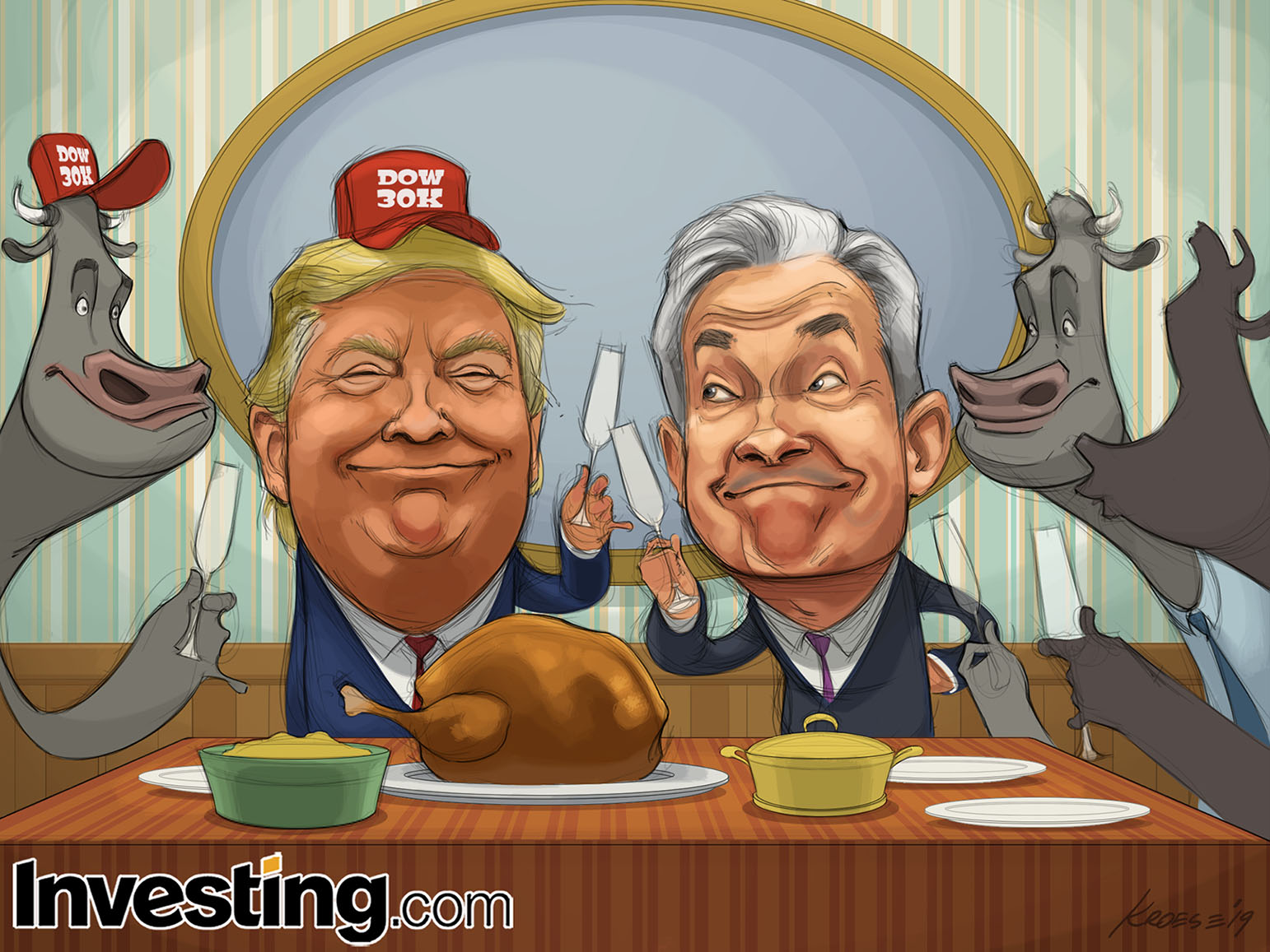 Stock Market At All-Time Highs Has The Bulls (And Trump) In A Festive Thanksgiving Mood