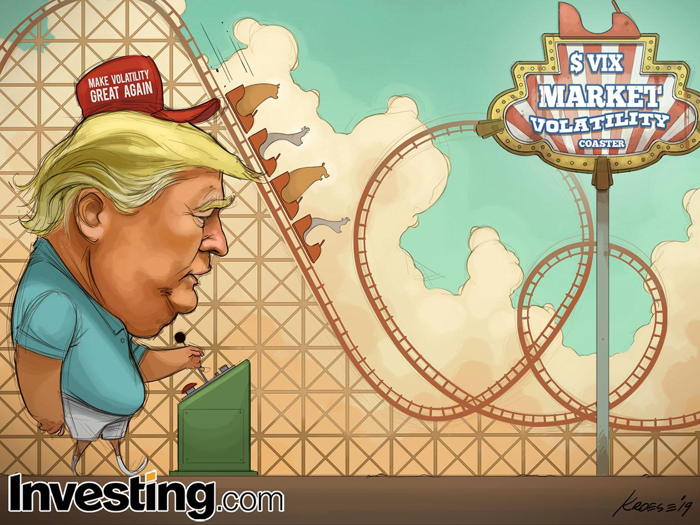 Trump's Trade War Headlines Take Markets On Wild Ride