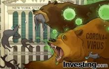 新型コロナウイルスショック 米国株は連日の急落