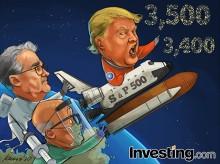 S&P 500は史上最高値間近、景気刺激策やワクチン開発に期待