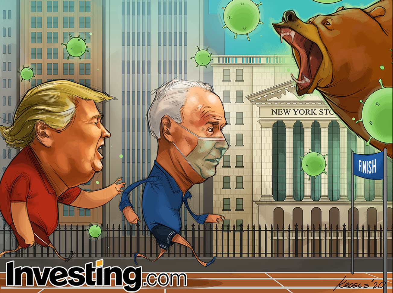 Political Uncertainty Hits Financial Markets With Just A Few Days To Go Until The U.S. Election