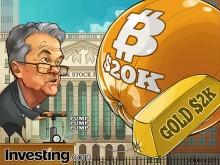 中央銀行が量的緩和し続けることで、ビットコインと金価格を急騰させる