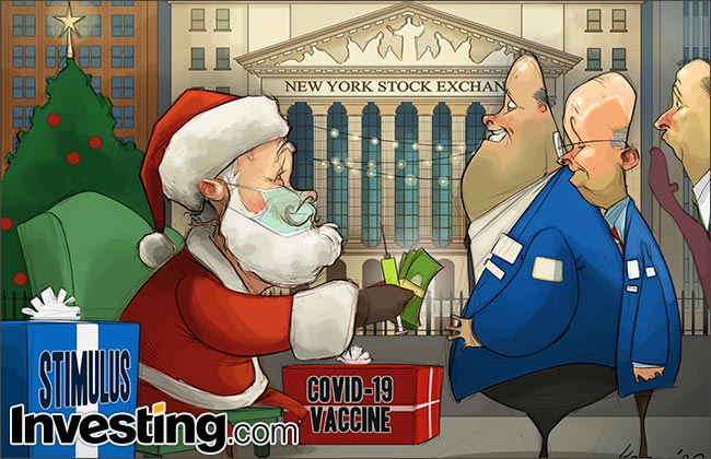 Wall Street's Blockbuster Year Comes To A Close. Merry Christmas and Happy Holidays From Investing.com!