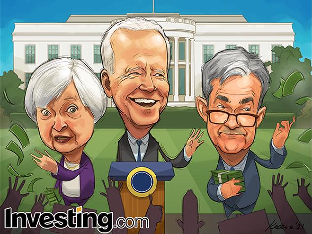 Biden Stimulus Hopes Lift Global Markets To Start Off 2021