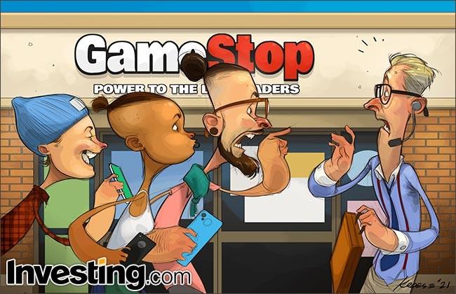GameStop株の急騰が続き Redditはウォール街を席巻