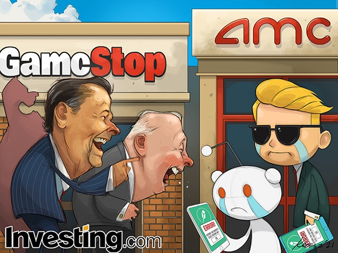 Reddit Meme株は取引の熱狂が立ち消えになり急落
