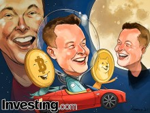 Elon Musk Sends Bitcoin, Dogecoin Prices To The Moon