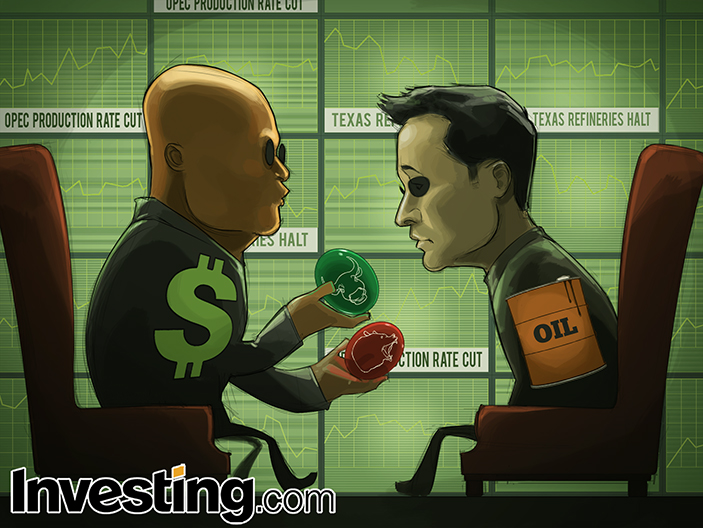 原油のジレンマ、強気?弱気?